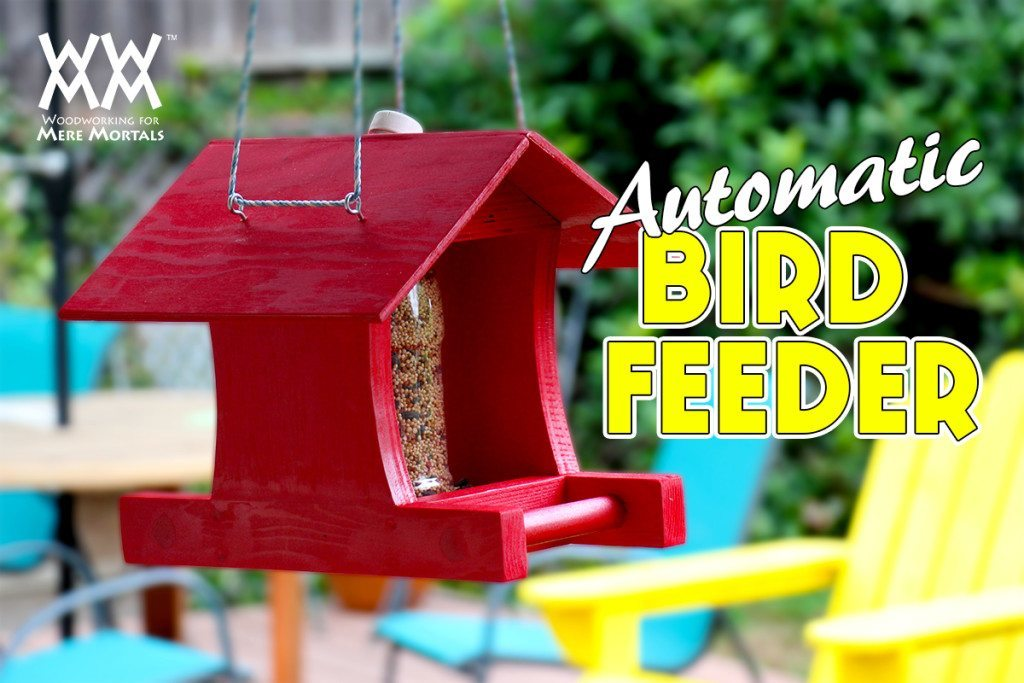 Automatic bird feeder craft carma diy crafting